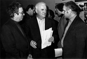 В.И.Рубин, Г.В.Свиридов, Р.С.Леденёв. Фото Ю.Дубровина