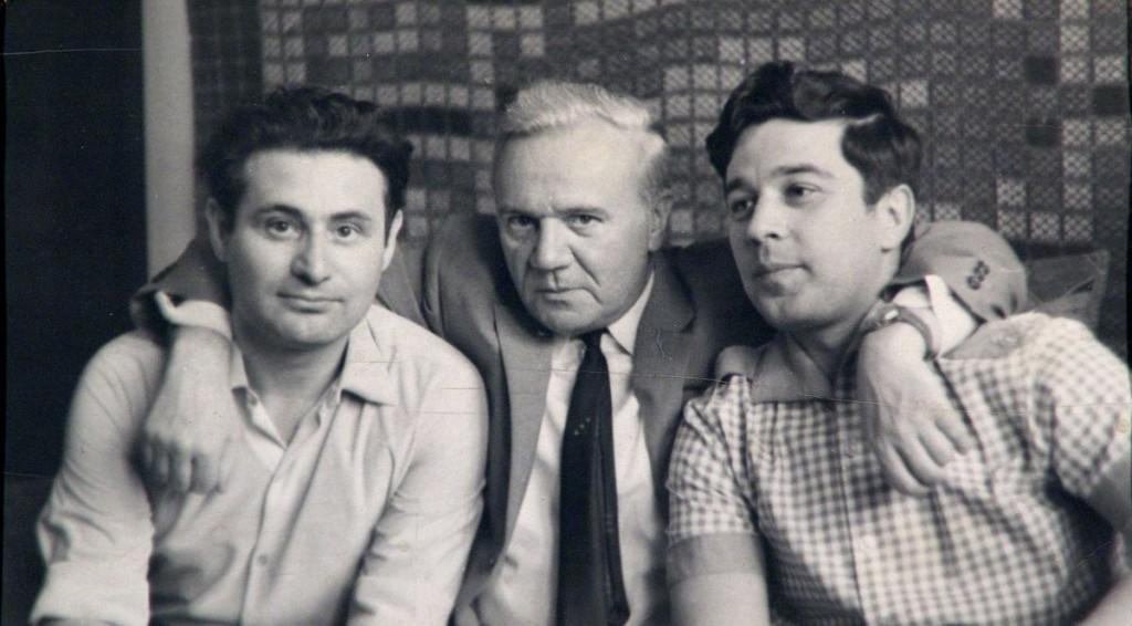 Шнитке, Голубев, Баташов. 1950-е